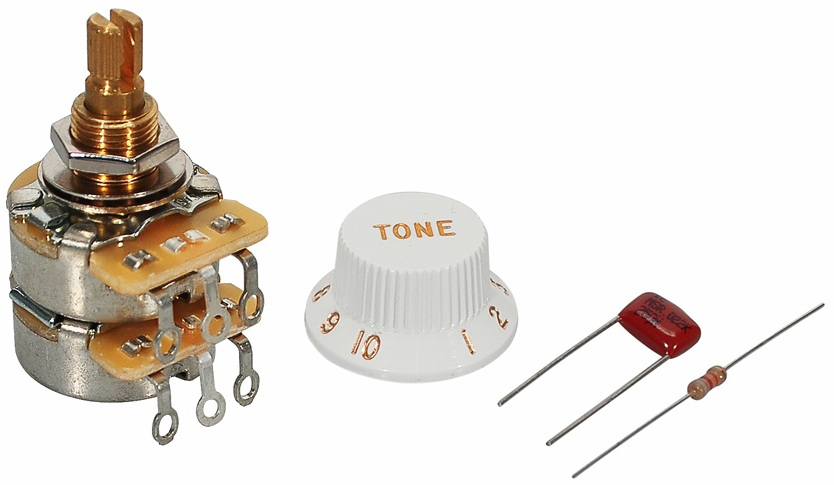 new fender tbx tone control pot kit guitar strat tele free. Black Bedroom Furniture Sets. Home Design Ideas